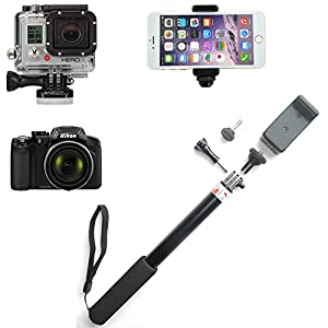 ace3c rhythm selfie stick monopod for smartphone digital camera pov camera all. Black Bedroom Furniture Sets. Home Design Ideas