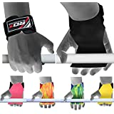 Authentic RDX Weight Lifting Training Gym Pro Grips Straps Gloves Wrist Support Lift Bar Workout