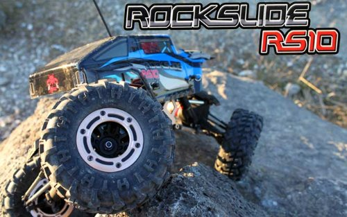 Redcat Racing Rockslide RS10 XT 1:10 Electric RTR RC Rock Crawler