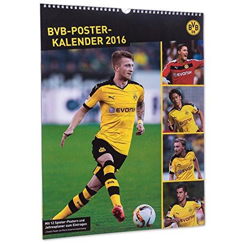 BVB Borussia Dortmund - Posterkalender A3 mit Jahresplaner - Kalender