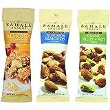 Sahale Snacks Grab And Go Nut Blends 3 Flavor Variety 6 Pack Bundle: (2) Sahale Snacks Almonds With Cranberries, Honey & Sea Salt, (2) Sahale Snacks Classic Fruit & Nut Trail Mix Blend, and (2) Sahale Snacks Dry Roasted California Almonds With Sea Salt, 1.5 Oz. Ea. (6 Bags Total)