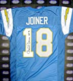 Charlie Joiner Autographed/Hand Signed Football Jersey (San Diego Chargers) HOF 96 at Amazon.com
