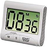 Xavax 00111319 Countdown Numérique Minuteur de Cuisine Blanc