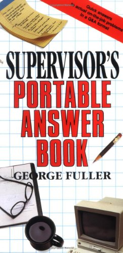 Supervisor's Portable Answer Book