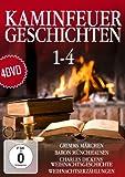 B - Grimm,Gebr.-Dickens,C.-Burger,G.A. Kaminfeuergeschichten 1-4