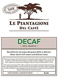 Find ESE Coffee Pods Brazilian Water Decaf 100% Arabica (50 Pods) from Le Piantagioni del Caffè