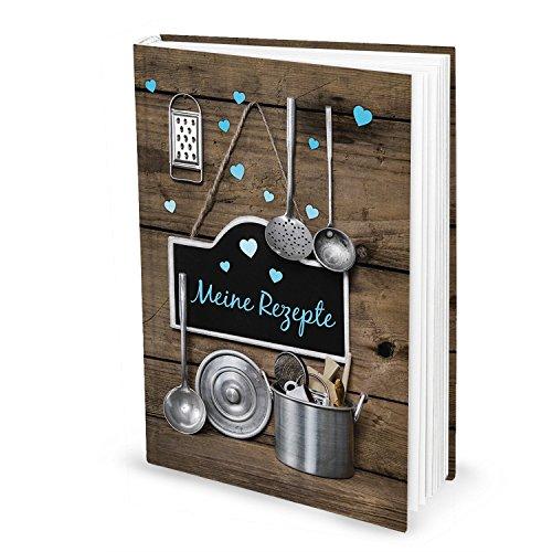 rezeptbuch nostalgia blankobuch in din a5 mit hardcover. Black Bedroom Furniture Sets. Home Design Ideas