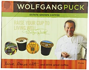 Wolfgang Puck Coffee K-Cups for Keurig Brewers from Wolfgang Puck Coffee