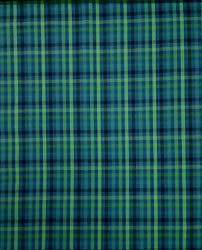 Indian Fabtex Men Cotton Multicolor Unstitched Checkered Shirt Fabric VTM-121-08
