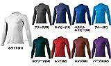 ミズノ アンダーシャツ ゼロプラス 丸首 長袖 12JA5P10 ブラック(09) L