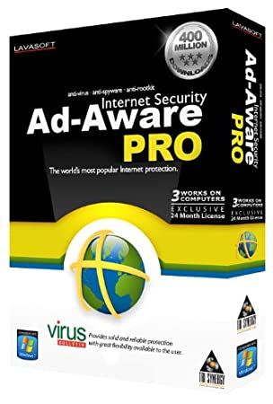 Ad-Aware Pro 3-User/24 Months
