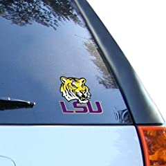Buy LSU Tigers 3 Window Cling by Rico