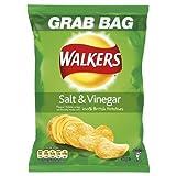 Walkers Grab Bags Salt and Vinegar Flavoured Crisps 32x50g Bags