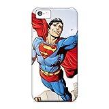 Cute Tpu Phone Case Superman Flight Case Cover For Iphone 5c