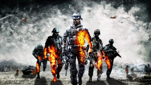 "Battlefield 1, 2, 3, 4, tessuto poster 109,22 (43 cm x 60,96 cm/(24 cm x 60,96 (24 33,02 (13 cm, 43""x24"""