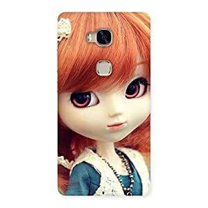 Impressive Tiny Baby Girl Multicolor Back Case Cover for Huawei Honor 5X
