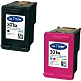 HP 301XL Remanufactured Black & Colour Ink Cartridges (1st Generation) for use with HP Deskjet 1000, 1010, 1050, 1050A & 1050se Printers by Ink Trader