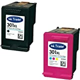 HP 301XL (High Capacity) Remanufactured Black & Tri-Colour Printer Ink Cartridges For use with HP Officejet 2620 AIO Envy 4500eAIO 4502eAIO 4504eAIO Printers by Ink Trader