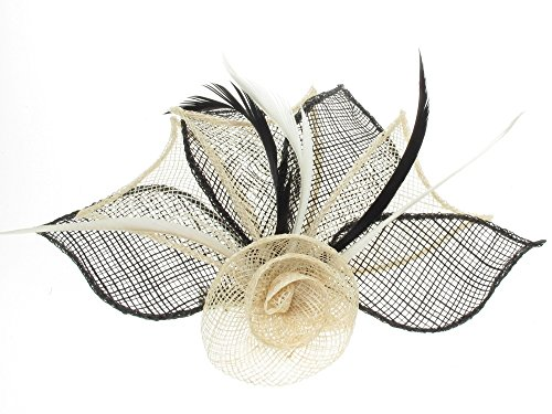 4479-2-tone-coloured-hessian-netted-rose-with-3-petals-fascinator-on-beak-clip-brooch-pin-wedding-cr
