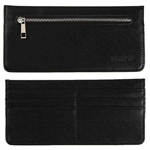 HIROMARUjp 極薄 財布 THIN WALLET スリム ウォレット ブラック