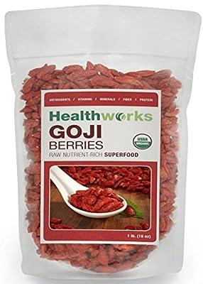 Healthworks Certified Organic Goji Berries