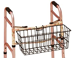 Nova MedicalProducts Hospital Healthcare Daily Living Mobility Aid Accessories Folding Walker Basket 437B