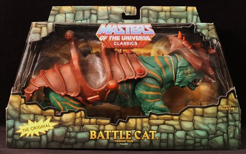 HeMan Masters of the Universe Classics Exclusive Action Figure Battle Cat Fighting Tiger of Eternia