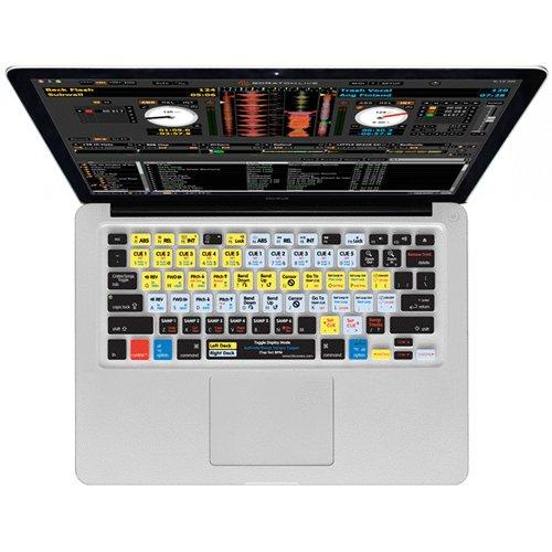 Kb Covers Ssl-M-Cc Keyboard Cover, Macbook/Air/Pro Unibody, Serato Scratch Live