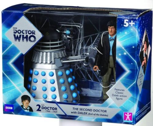 Underground Toys The Second Doctor With Dalek (Evil Of The Daleks) Figure Set