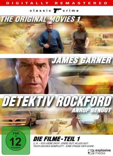 Detektiv Rockford - Anruf genügt - Die Filme - Teil 1 [4 DVDs]
