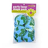 """Bloomin Seed Paper Shapes Packs - Earth Shapes - 100 Shapes Per Pack - 2.1"""" {Blue Green}"""