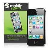 """Apple iPhone 4 / iPhone 4S Displayschutzfolie Wache 8 Packen Mit Micro Faser Poliertuch Und Anwendung Kartevon """"Mobile Madhouse"""""""