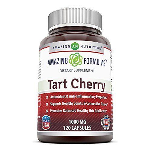 Amazing Nutrition Tart Cherry Extract, 1000 Mg 120 Capsules (Extracts Cherry compare prices)