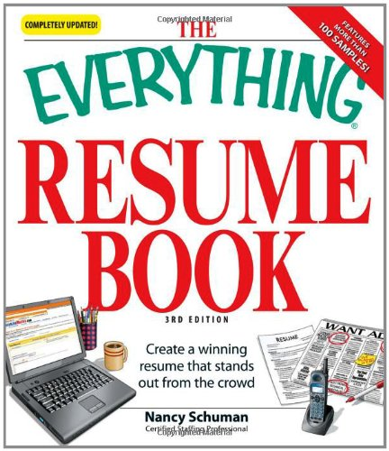 The Everything Resume Book: Create a winning resume that...