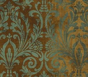 wallquest damask wallpaper st31402 everything