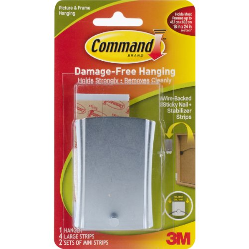 Command Sticky Nail Wire-Back Hanger image