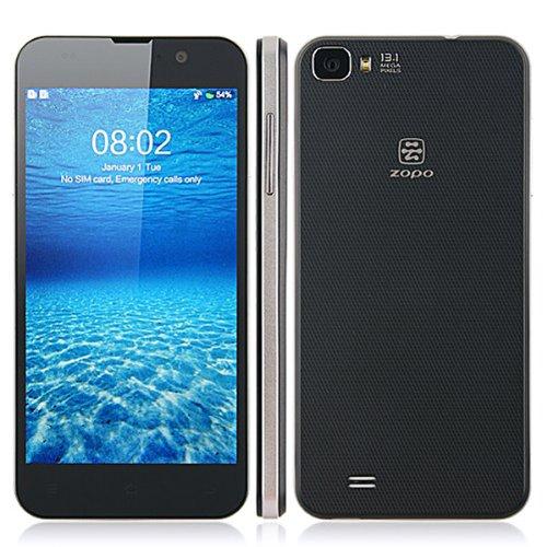Original Zopo C2 Smartphone Mtk6589T Quad Core 1.5Ghz Android 4.2 16G 5.0 Inch Fhd 1080P Screen 13.0Mp--Black