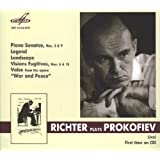Richter plays Prokofiev : Piano Sonatas / Legend / Landscape / Visions Fugitives / Valse