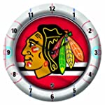 NHL Chicago Blackhawks Game Clock