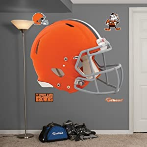 NFL Cleveland Browns Helmet Wall Graphics by Fathead