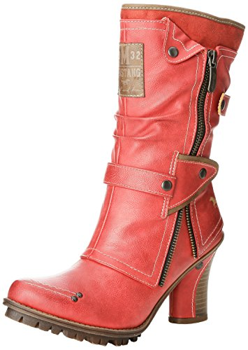 Mustang 1141, 606, Stivaletti Donna, Rosso (5 rot), 37 EU