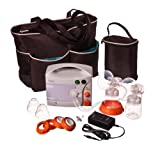 Hygeia EnJoye LBI Breast Pump with Black Tote Set