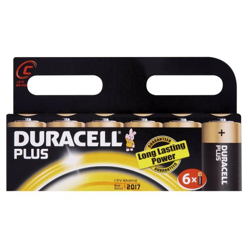 duracell-plus-mn1400-alkaline-c-batteries-6-pack