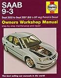 Saab 9-3 (02 - 06) (Service & repair manuals)