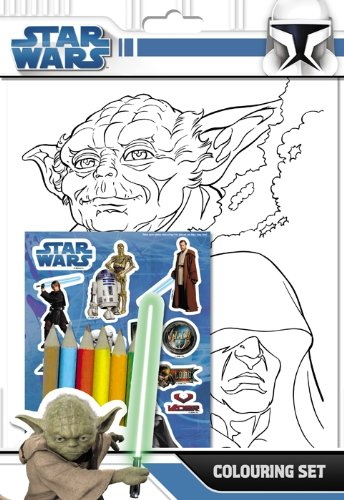 Star Wars Colour Sticker Set