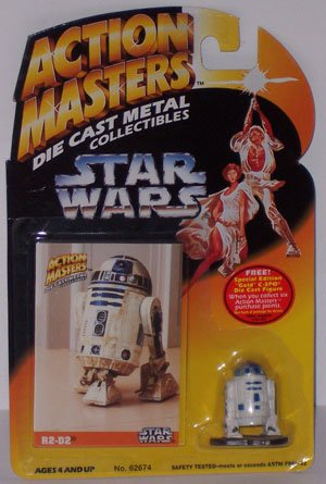 Star Wars Action Masters R2-D2 - 1