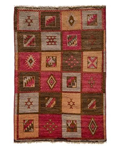 Solo Rugs Kaitag Oriental Rug, Multi, 4' 1 x 6' 3