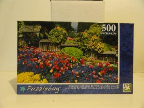 Puzzlebug 500 Piece Puzzle ~ Butchart Gardens, British Columbia, Canada - 1