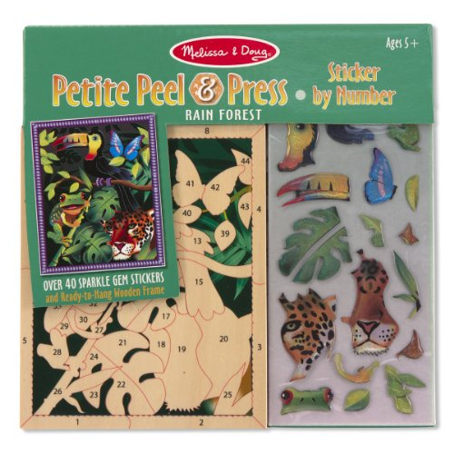 Melissa And Doug Sticker Book front-1049064