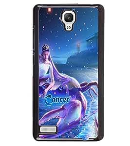 PRINTVISA Zodiac Cancer Case Cover for Xiaomi Redmi Note::Xiaomi Redmi Note 4G